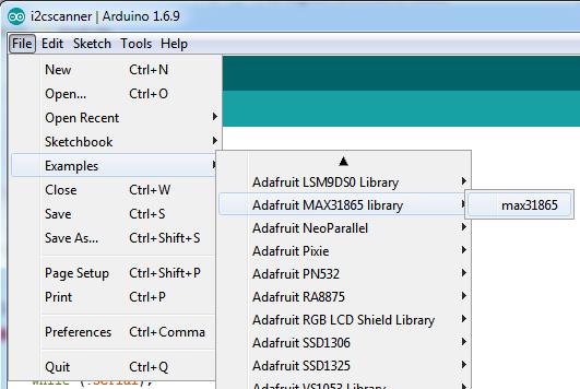 Arduino Code | Adafruit MAX31865 RTD PT100 or PT1000