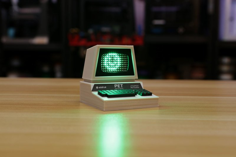 Overview | Mini Commodore PET with Charlieplexed LED Matrix ...