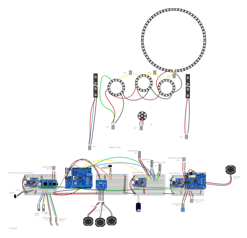 Circuit building overwatch prop gun lucios blaster pt 3 circuit building malvernweather Image collections