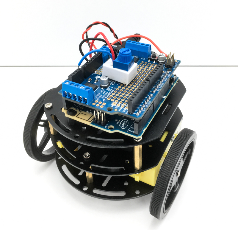 Control Your Robot's Speed | CurieBot: Arduino 101 Mini Robot Rover