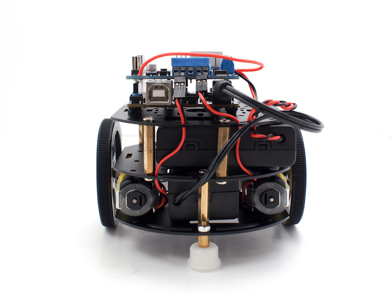 Introduction curiebot arduino mini robot rover