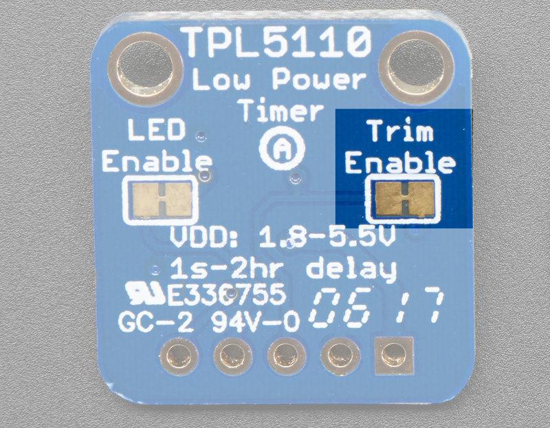 Usage | Adafruit TPL5110 Power Timer Breakout | Adafruit Learning System