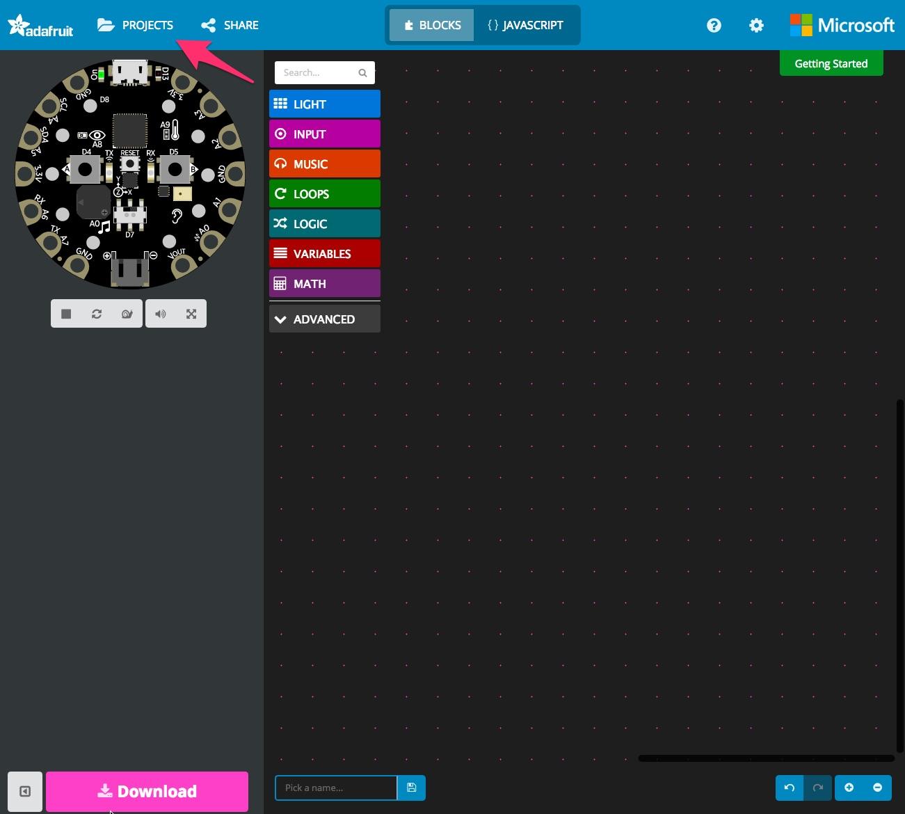 sensors_cpe_makeCodeBlinky1.jpg