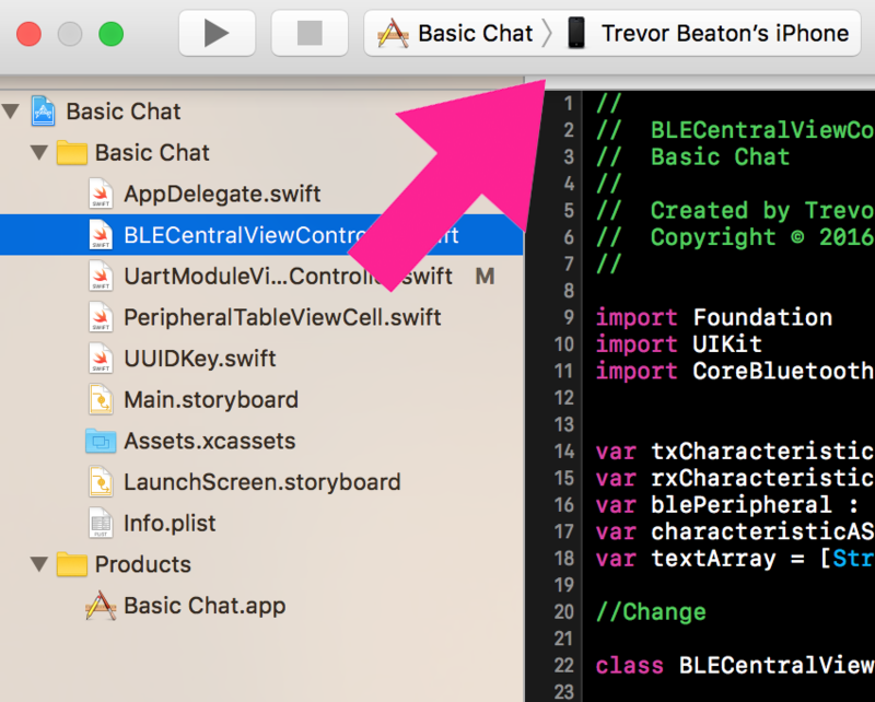 Overview | Create a Bluetooth LE App for iOS | Adafruit