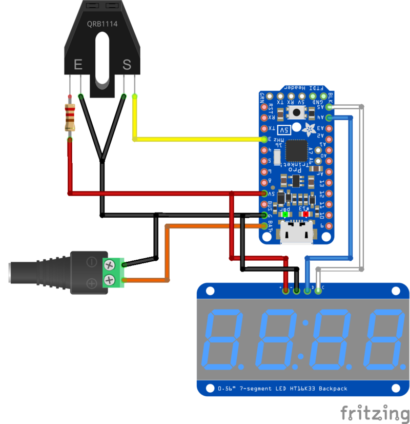 Overview | Pro Trinket Tachometer | Adafruit Learning System