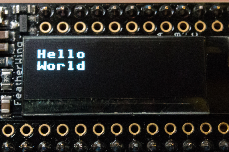 Overview | CircuitPython Hardware: SSD1306 OLED Display