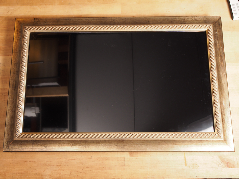 Frame, Mount, and Light the Display | Haunted Portrait | Adafruit ...