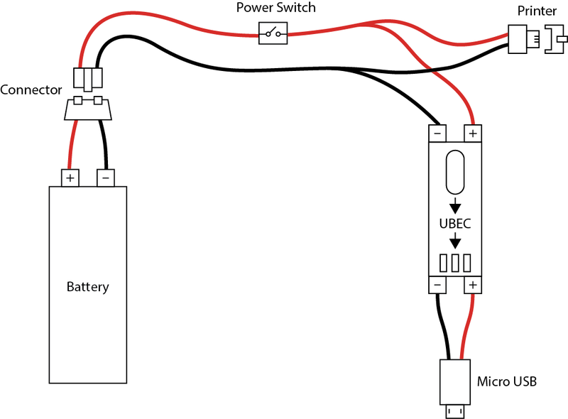 micro usb connector circuit diagram