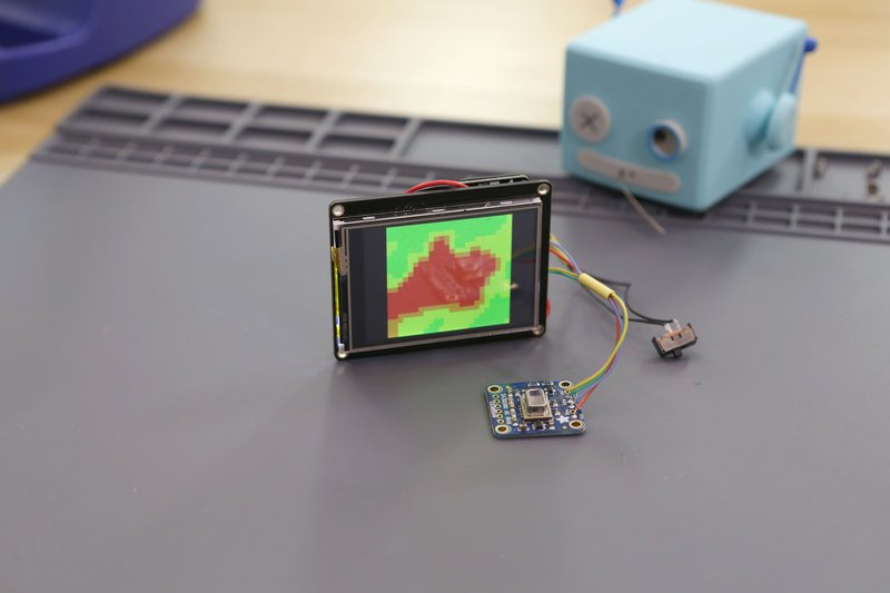 Overview | Thermal Camera with Display | Adafruit Learning