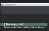 circuitpython_PyCharmToolsMicroPythonREPLMenu.png