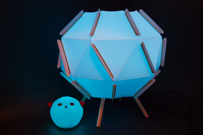 Lamp it up! | Hacking Ikea Lamps with Circuit Playground