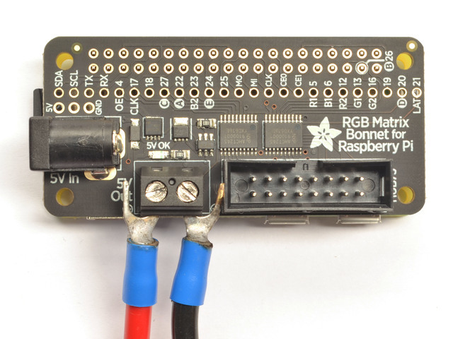 Overview   Adafruit RGB Matrix + Real Time Clock HAT for Raspberry