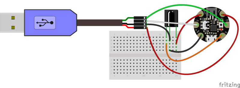 Wiring trinket gemma ir control adafruit learning system trinkettrinketgemmaircontrol arduinousbserialdebugbbg cheapraybanclubmaster Images