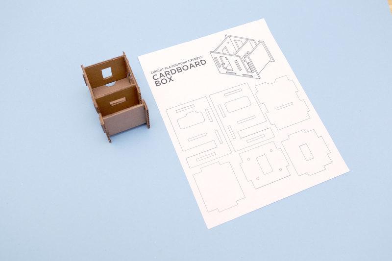Cardboard Template | Cardboard Box for Circuit Playground Express ...