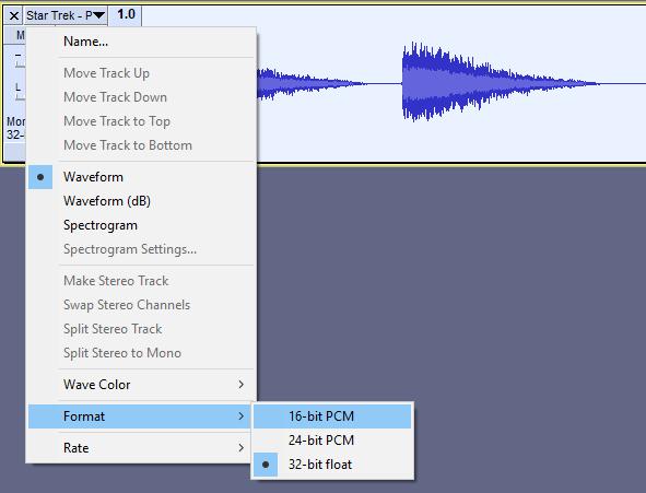 Convert Sound Files in Audacity | Microcontroller Compatible Audio