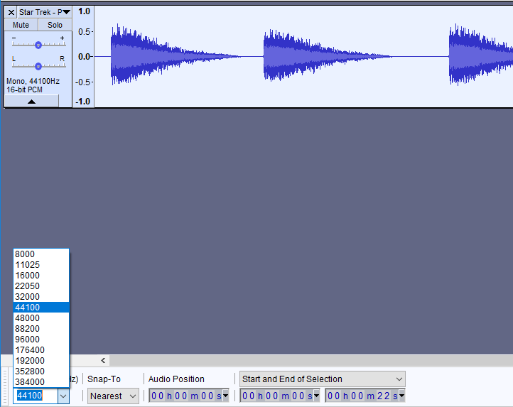 Convert Sound Files in Audacity | Microcontroller Compatible Audio