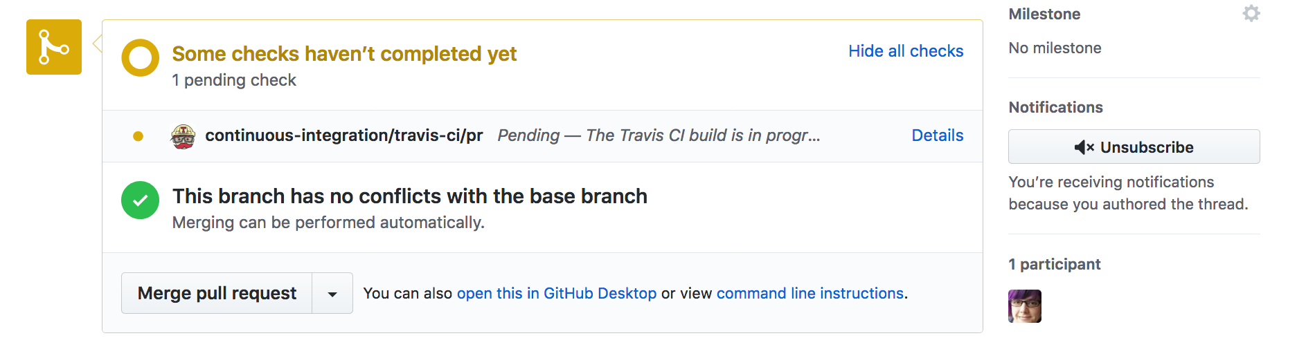 circuitpython_GitHubNewPRChecksNotCompleted.png