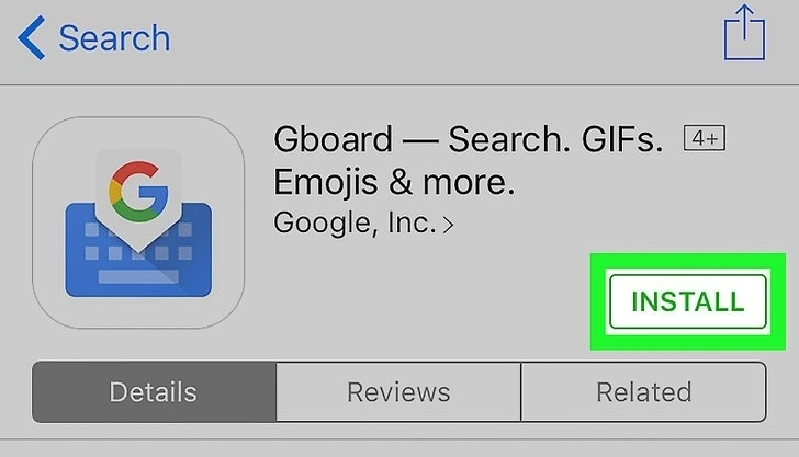 Installing GBoard | Android GBoard Morse Code Control with