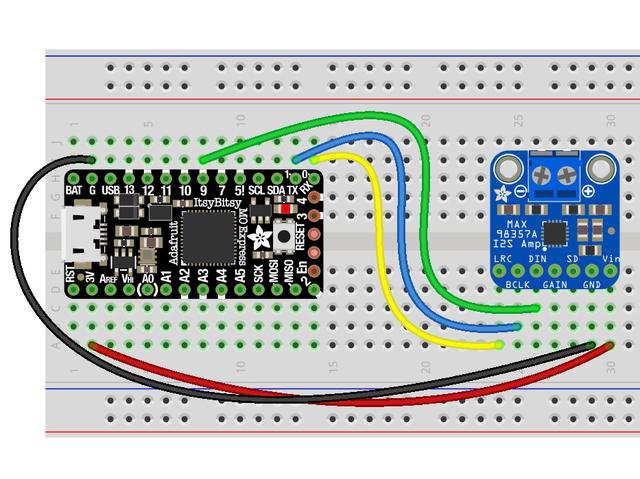 Overview | Adafruit MAX98357 I2S Class-D Mono Amp | Adafruit