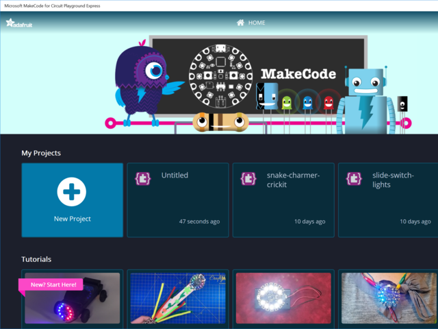 MakeCode and Windows 10 | Adafruit Circuit Playground