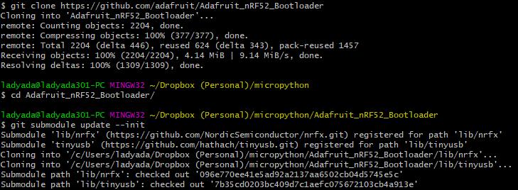 nRF52840 Bootloader | CircuitPython on the nRF52 | Adafruit