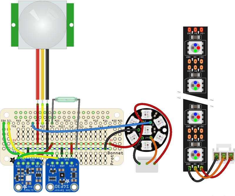 Python Wiring   Adafruit IO Home: Security   Adafruit Learning System