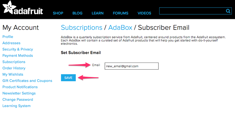 How do I manage my subscription? | Creating and Maintaining Your