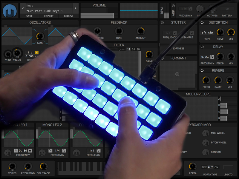 software synthesizers trellis m4 expressive midi controller adafruit learning system. Black Bedroom Furniture Sets. Home Design Ideas