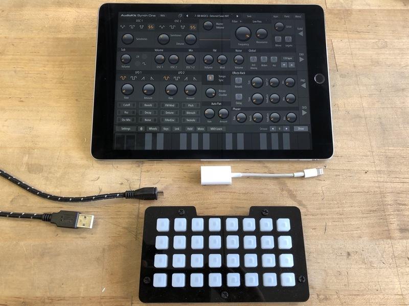 Overview | Trellis M4 Expressive MIDI Controller | Adafruit