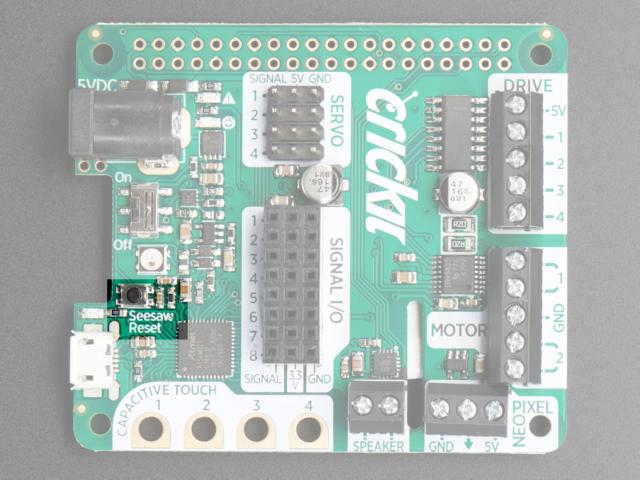 Overview | Adafruit CRICKIT HAT for Raspberry Pi Linux