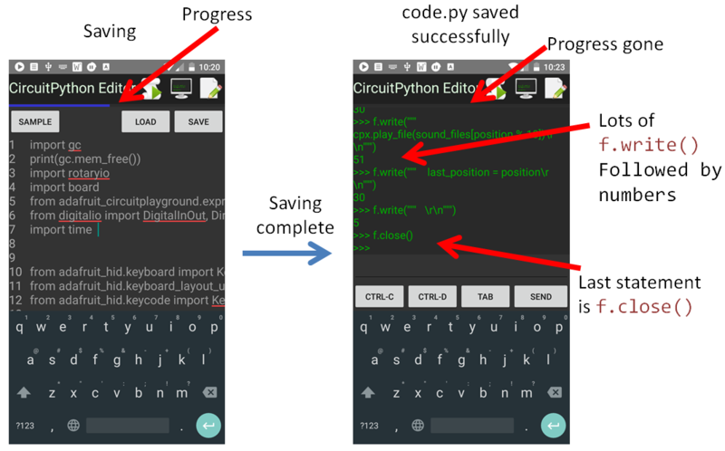 Overview | Using the Android CircuitPython Editor | Adafruit