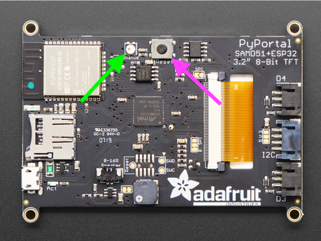 Overview | Adafruit PyPortal - IoT for CircuitPython