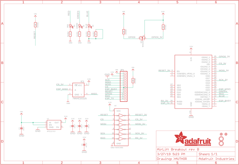 Overview | Adafruit AirLift - ESP32 WiFi Co-Processor