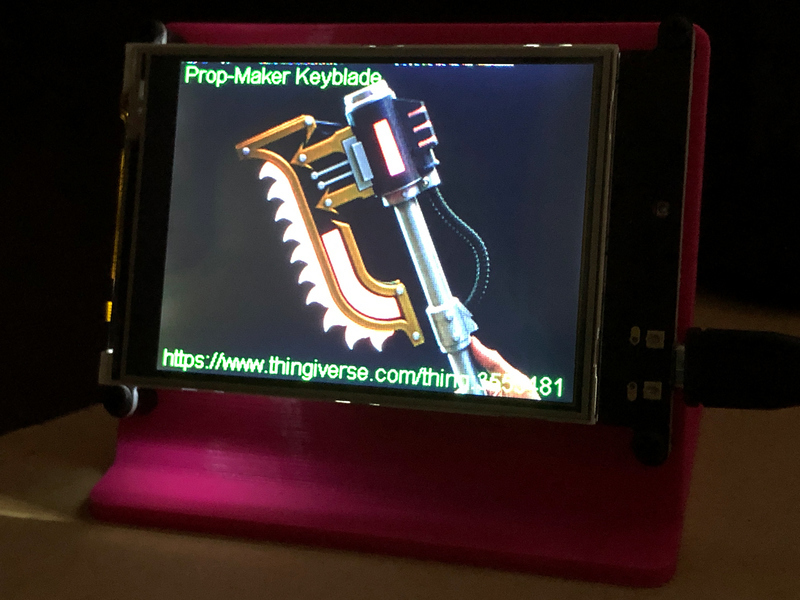 Code the Thingiverse Thing Viewer | PyPortal Thingiverse