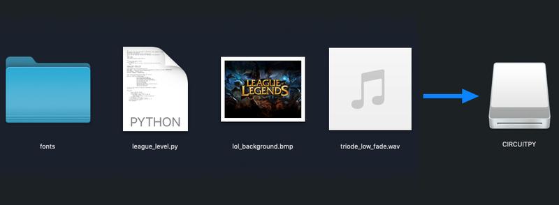 Overview | League of Legends Level Trophy for PyPortal | Adafruit
