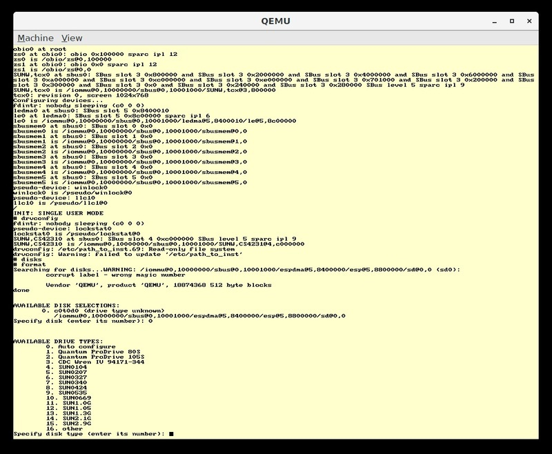 Overview | Build your own SPARC workstation with QEMU and