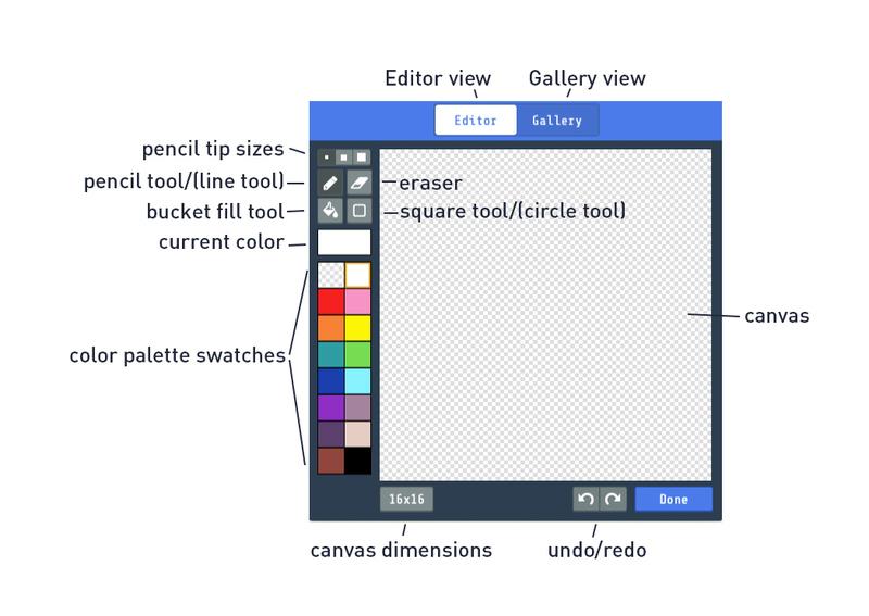 Create Sprites in MakeCode Arcade | MakeCode Arcade Pixel Art