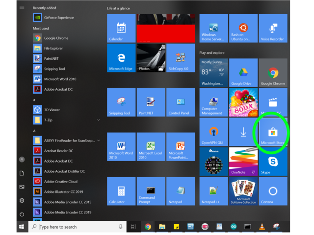 The Python App | Using Python on Windows 10 | Adafruit