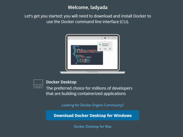 Install Docker | How to train new TensorFlow Lite micro speech