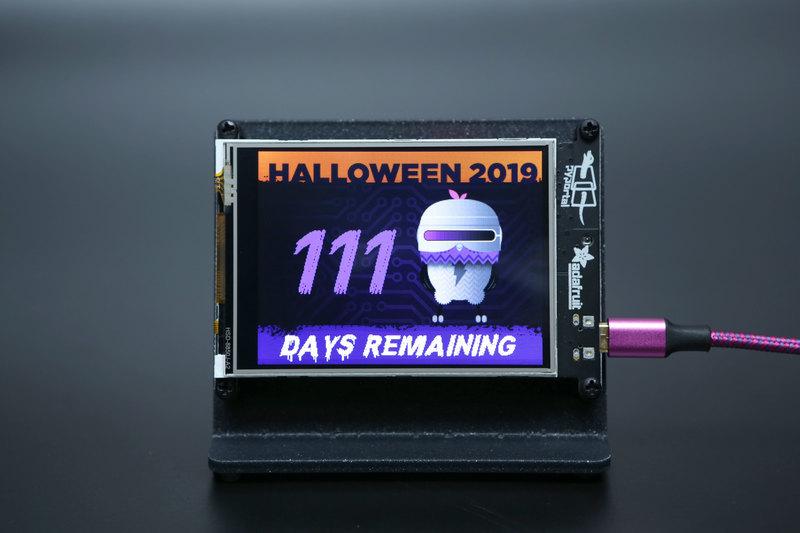 Overview | PyPortal Halloween Countdown | Adafruit Learning