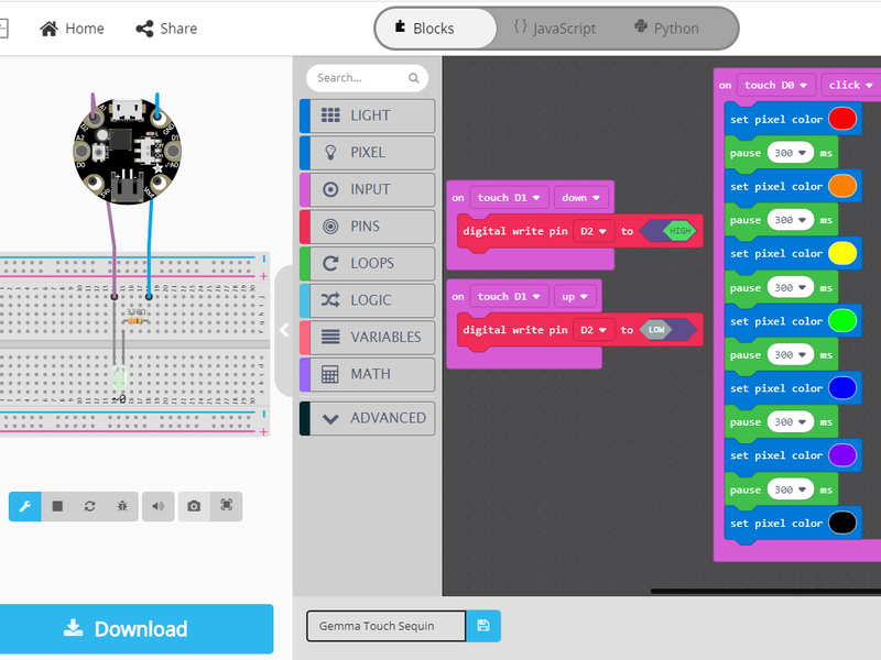 adafruit_products_MakeCode_Maker_Gemma_Sample.jpg