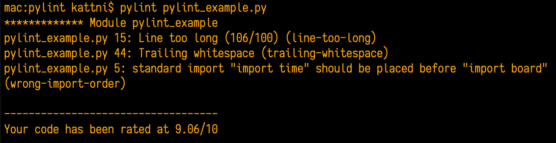 circuitpython_pylint_error_2_three_errors.png