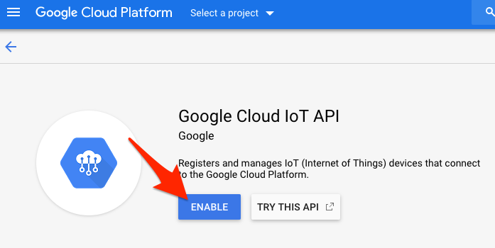 Google Cloud Setup | PyPortal IoT Plant Monitor with Google