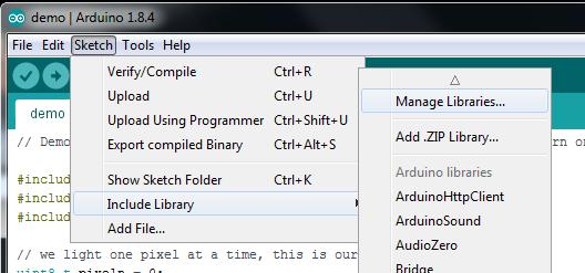 led_pixels_library_manager_menu.png