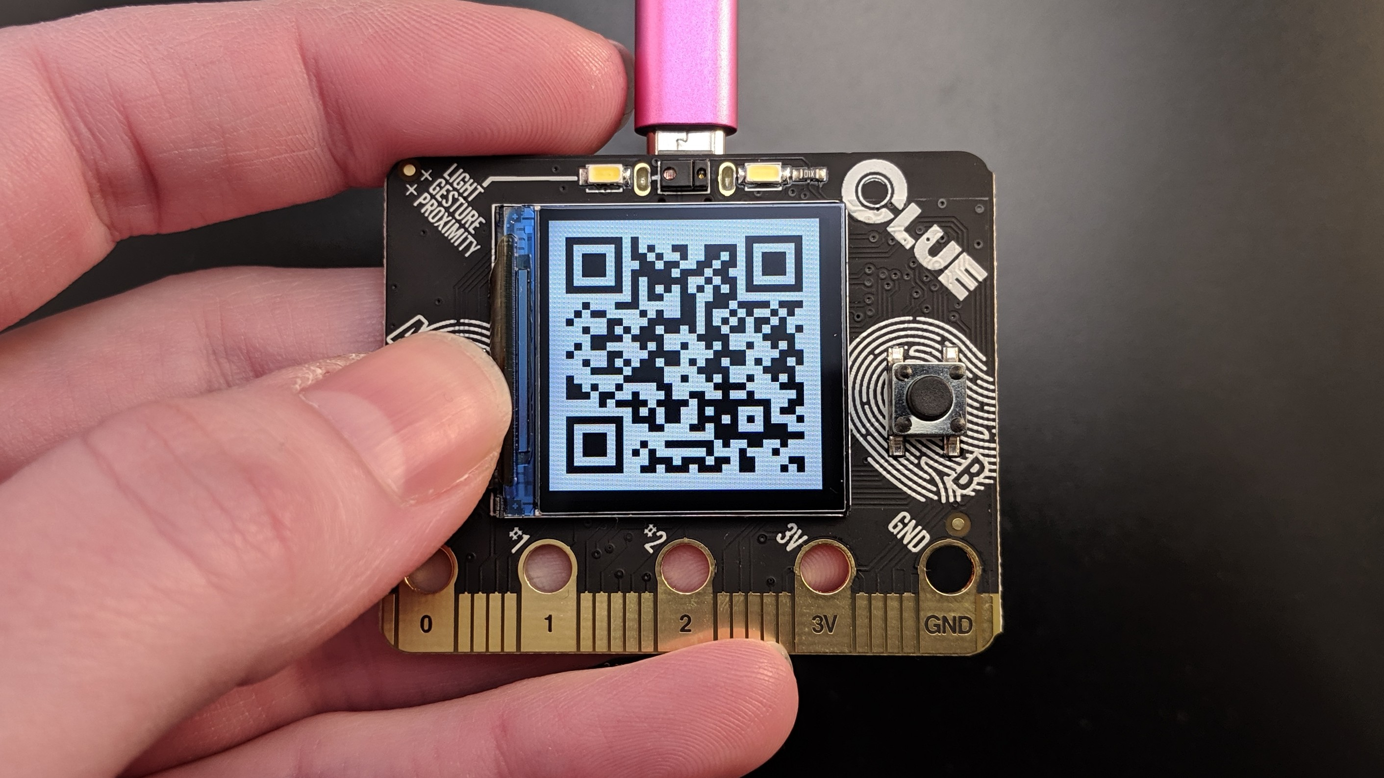 adafruit_products_CLUE_PyBadger_custom_badge_qr_code.jpg