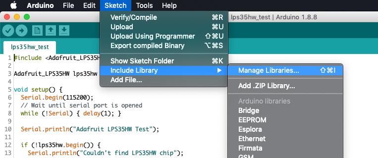 sensors_ARDUINO_-_library_manager_menu.png