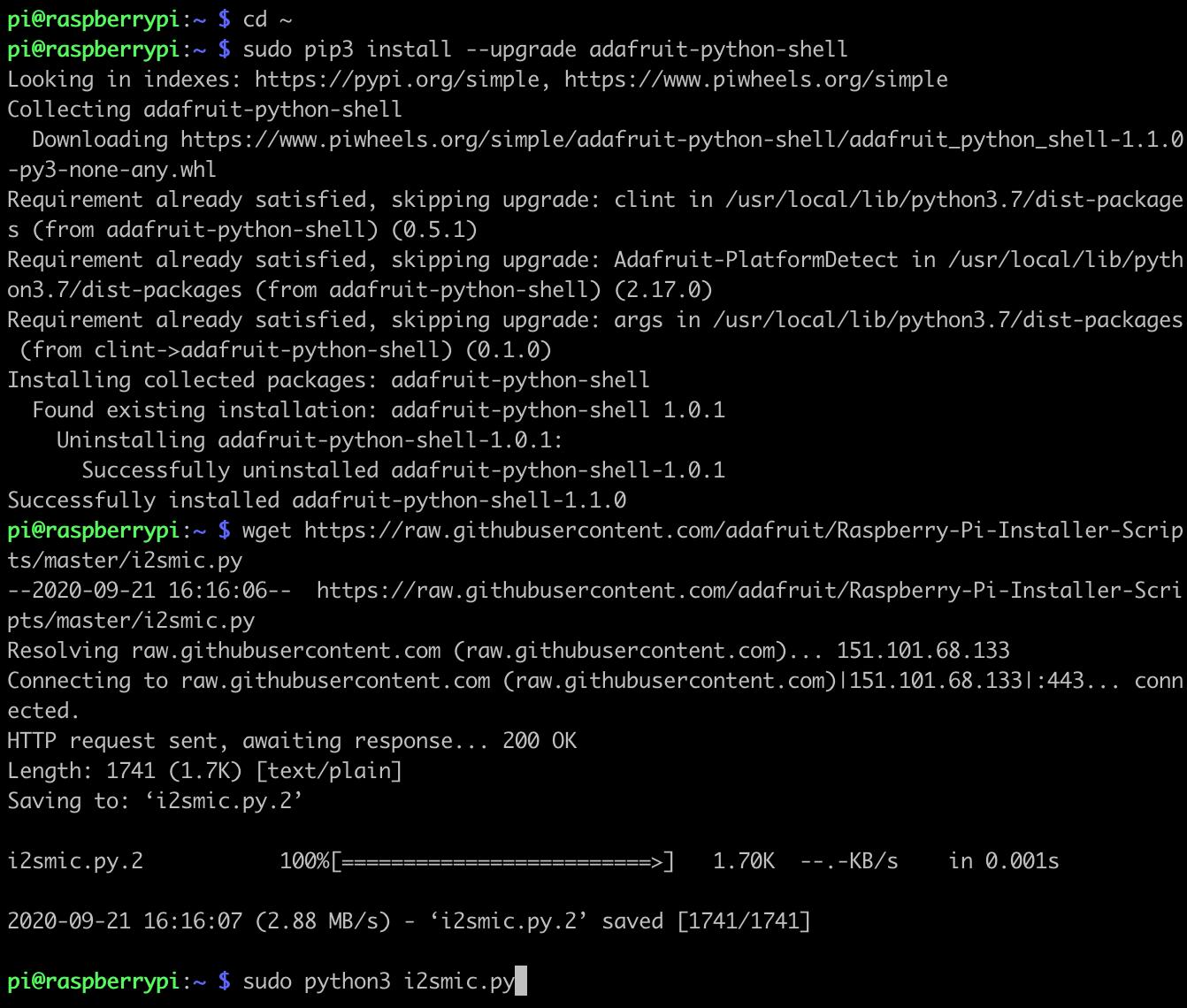 sensors_i2smic_python_install.png