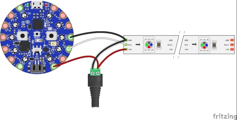 wiring diagram  easy nosoldering bluetooth controlled room