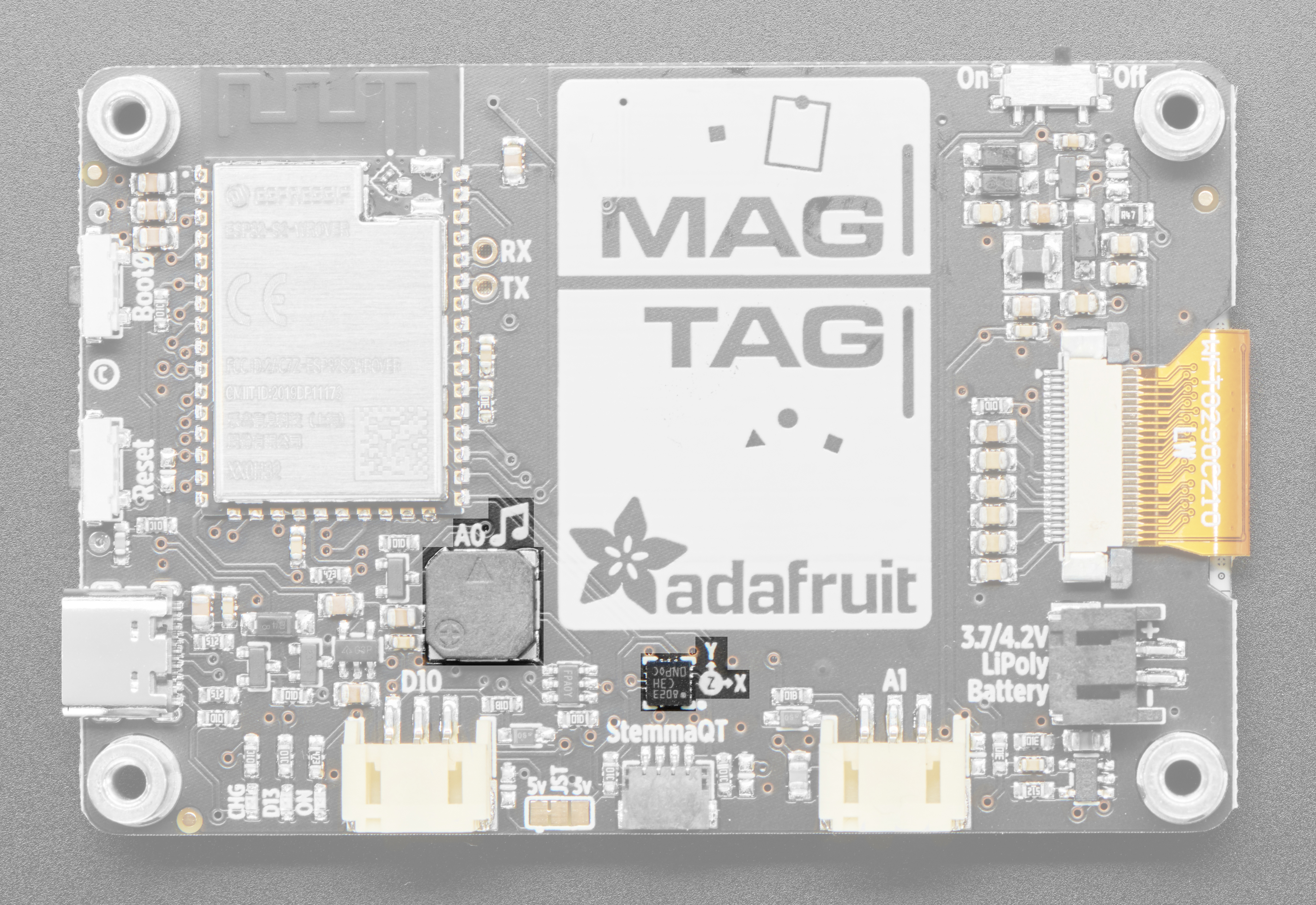 adafruit_products_MagTag_pinouts_speaker_accelerometer.jpg