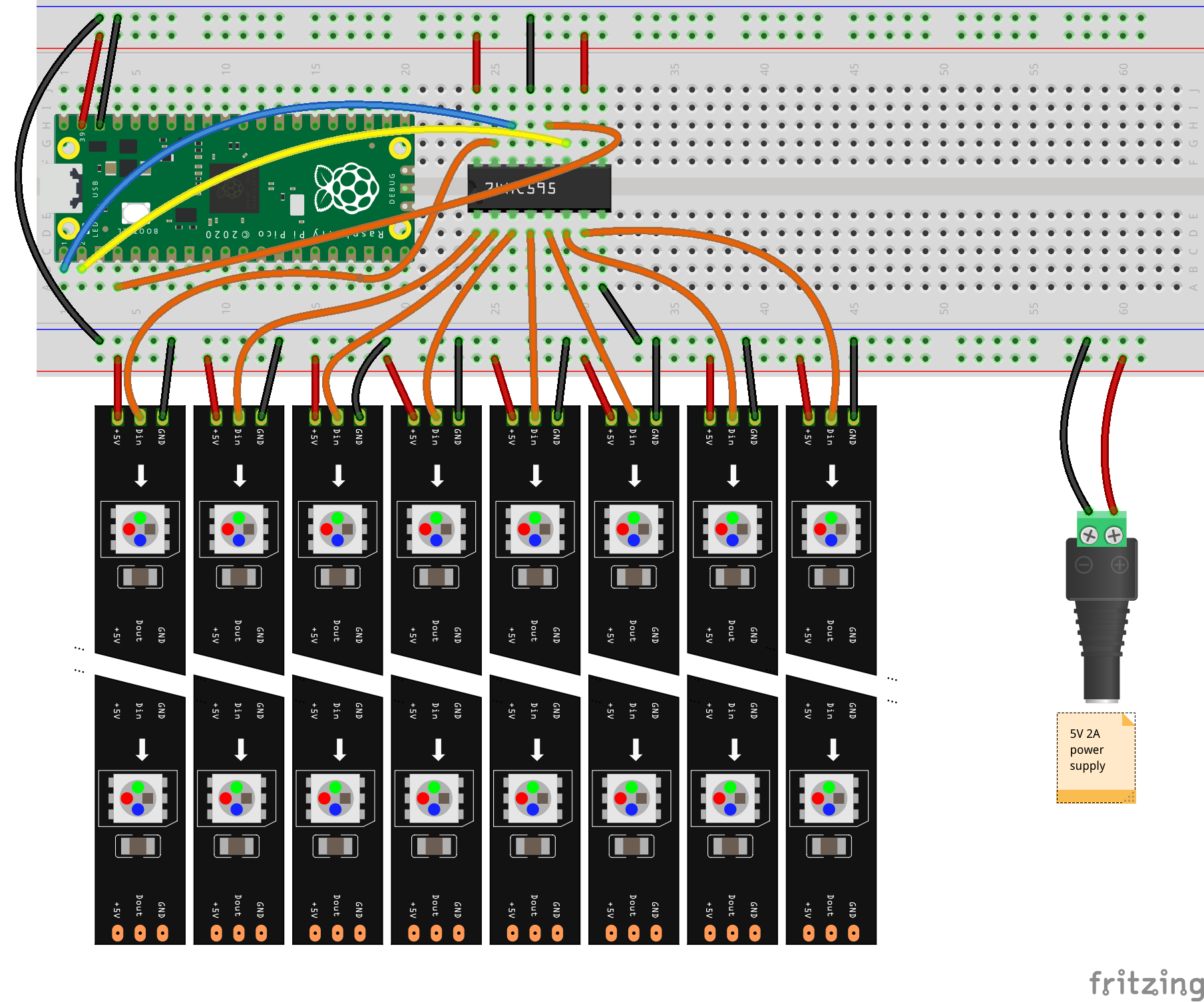 Project Wiring (see description)